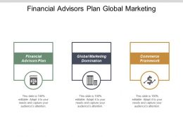 Financial Advisors Plan Global Marketing Domination Commerce Framework Cpb
