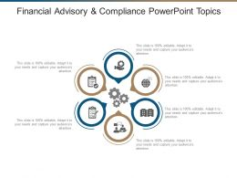 Financial Advisory And Compliance Powerpoint Topics