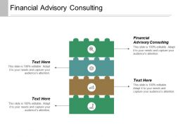 Financial Advisory Consulting Ppt Powerpoint Presentation Inspiration Influencers Cpb