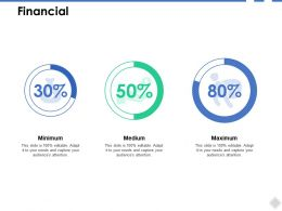 Financial Analysis B260 Ppt Powerpoint Presentation Visuals