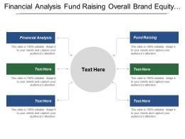 Financial Analysis Fund Raising Overall Brand Equity Data Monetization
