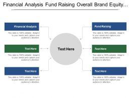 Financial Analysis Fund Raising Overall Brand Equity Data Monetization