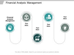 Financial Analysis Management Ppt Powerpoint Presentation Ideas Graphic Tips Cpb