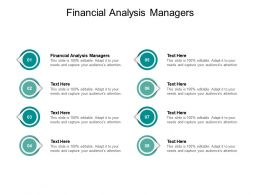Financial Analysis Managers Ppt Powerpoint Presentation Infographic Cpb