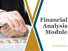 Financial Analysis Module Powerpoint Presentation Slides