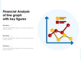Financial Analysis Of Line Graph With Key Figures