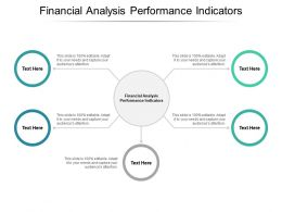 Financial Analysis Performance Indicators Ppt Powerpoint Presentation Layouts Deck Cpb