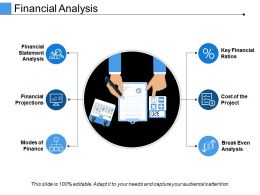Financial Analysis Powerpoint Slide Information