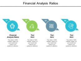 Financial Analysis Ratios Ppt Powerpoint Presentation Gallery Example Topics Cpb