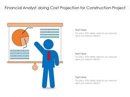 Financial Analyst Doing Cost Projection For Construction Project