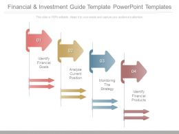 Financial And Investment Guide Template Powerpoint Templates