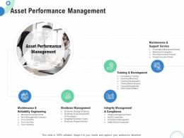 Financial And Operational Analysis Asset Performance Management Ppt Powerpoint Ideas