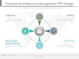 financial_and_resource_management_ppt_design_Slide01