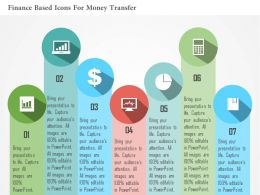 Financial And Time Based Process Flow Flat Powerpoint Design