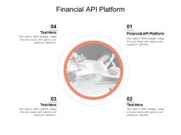 Financial API Platform Ppt Powerpoint Presentation Gallery Maker Cpb