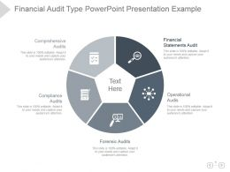 Financial Audit Type Powerpoint Presentation Example