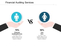 Financial Auditing Services Ppt Powerpoint Presentation Inspiration Mockup Cpb