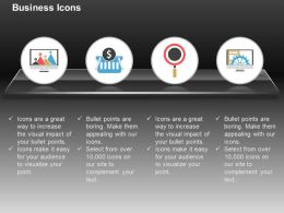 Financial Banking Growth Process Flow Ppt Icons Graphics