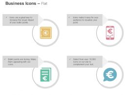 Financial Banking Solutions Mobile Transfer Data Representation Ppt Icons Graphics