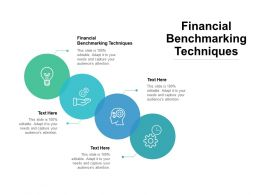 Financial Benchmarking Techniques Ppt Powerpoint Presentation Ideas Graphics Pictures Cpb