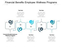 Financial Benefits Employee Wellness Programs Ppt Infographic Template Slideshow Cpb