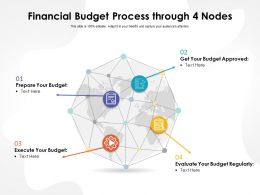 Financial Budget Process Through 4 Nodes