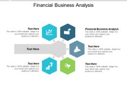 Financial Business Analysis Ppt Powerpoint Presentation Ideas Sample Cpb