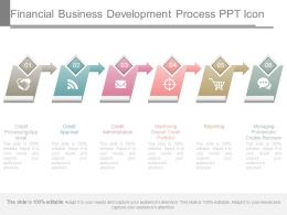 Financial Business Development Process Ppt Icon