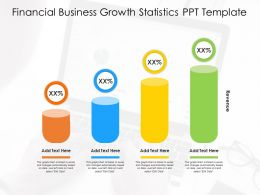 Financial Business Growth Statistics PPT Template