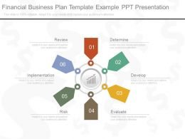 Financial Business Plan Template Example Ppt Presentation