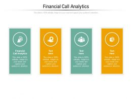 Financial Call Analytics Ppt Powerpoint Presentation Pictures Ideas Cpb