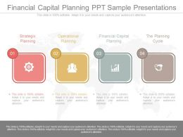 Financial Capital Planning Ppt Sample Presentations