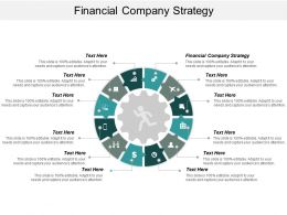 Financial Company Strategy Ppt Powerpoint Presentation Gallery Structure Cpb