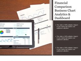 Financial Comparison Business Chart Analytics And Dashboard