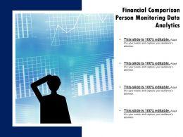 Financial Comparison Person Monitoring Data Analytics