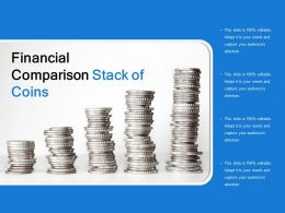 Financial Comparison Stack Of Coins