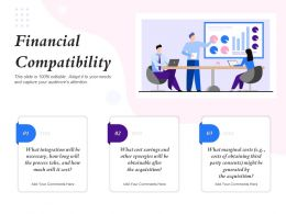 Financial Compatibility Party Consents Ppt Powerpoint Presentation Background