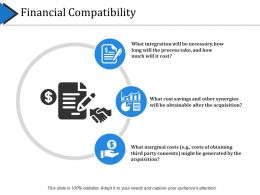 Financial Compatibility Powerpoint Slide Backgrounds