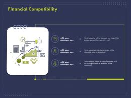 Financial Compatibility Ppt Powerpoint Presentation Ideas Outline