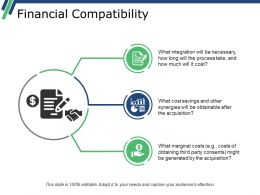 Financial Compatibility Presentation Background Images