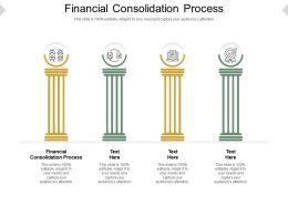 Financial Consolidation Process Ppt Powerpoint Presentation Infographic Design Cpb
