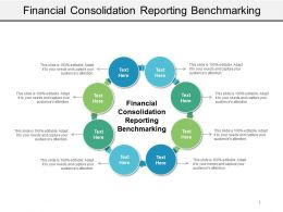 Financial Consolidation Reporting Benchmarking Ppt Powerpoint Presentation Portfolio Slide Cpb