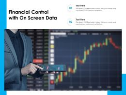 Financial Control With On Screen Data