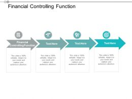 Financial Controlling Function Ppt Powerpoint Presentation Visual Aids Deck Cpb