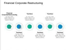 Financial Corporate Restructuring Ppt Powerpoint Presentation Professional Themes Cpb