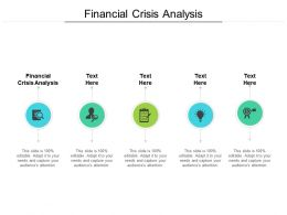 Financial Crisis Analysis Ppt Powerpoint Presentation Inspiration Objects Cpb