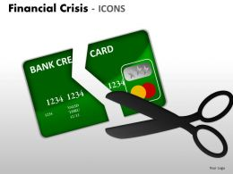 Financial Crisis Icons PPT 18 33