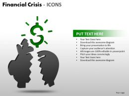 Financial Crisis Icons PPT 2 17