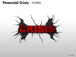 Financial Crisis Icons PPT 5 20
