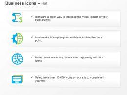 Financial Data Globe Business Lifeline Data Folder Ppt Icons Graphics
